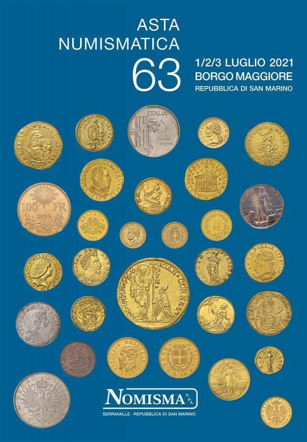 Asta 63 monete