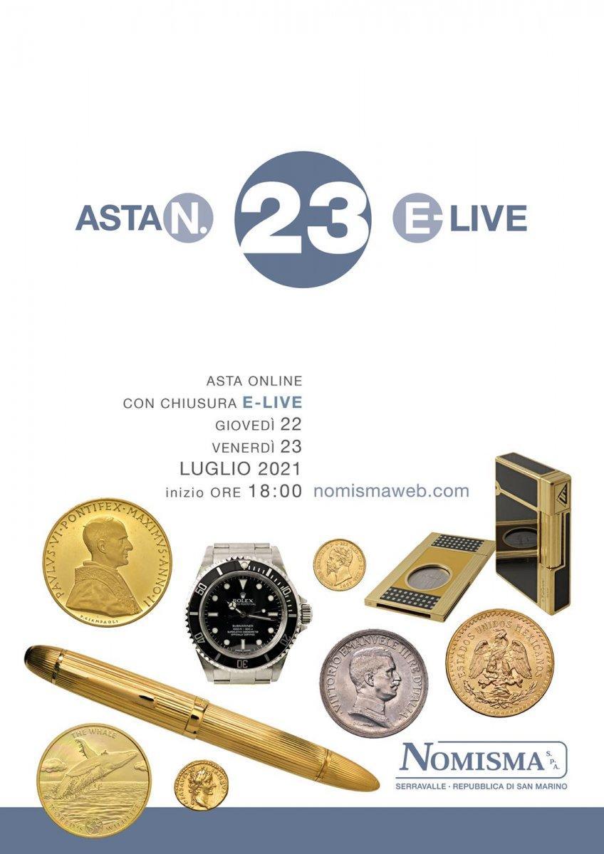 copertina Asta e-23